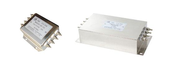 3相4线单级电源滤波器